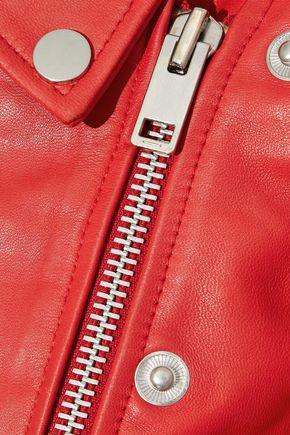28c31909b663a ... W118 by WALTER BAKER Liz leather biker jacket ...