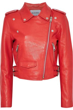 W118 by WALTER BAKER Liz leather biker jacket