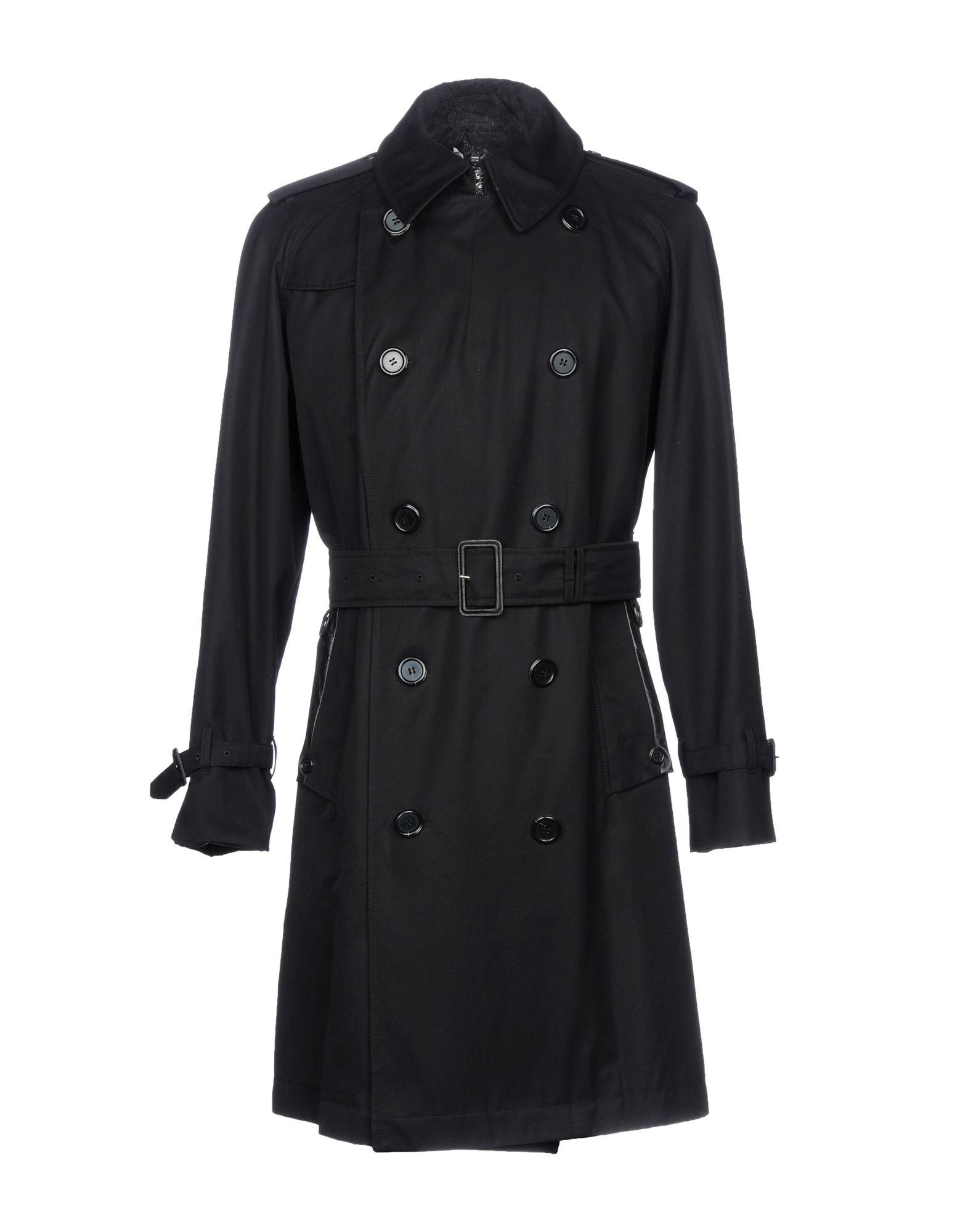 AQUASCUTUM Double Breasted Pea Coat in Black