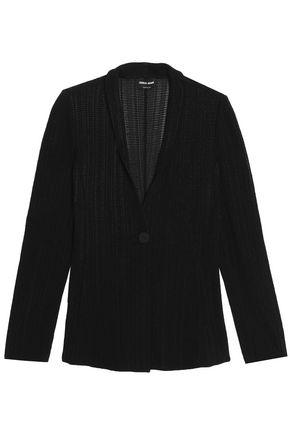GIORGIO ARMANI Stretch-knit blazer