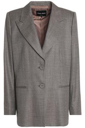 GIORGIO ARMANI Wool and silk-blend blazer