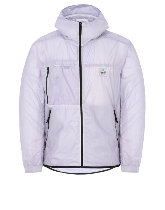 LIGHTWEIGHT JACKET 41731 LAMY VELOUR_PACKABLE STONE ISLAND - 0