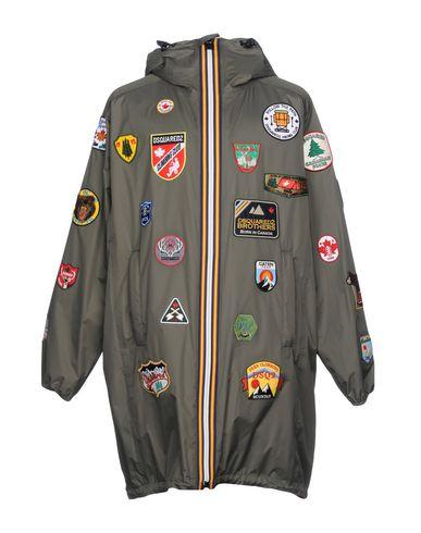 Фото - Мужскую куртку DSQUARED2 x K-WAY свинцово-серого цвета