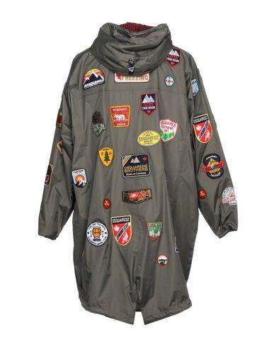 Фото 2 - Мужскую куртку DSQUARED2 x K-WAY свинцово-серого цвета