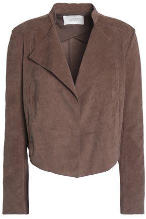 HALSTON HERITAGE Faux suede jacket