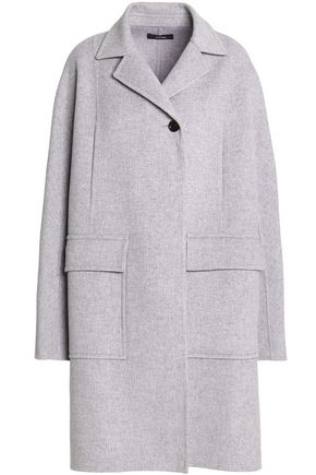 JOSEPH Double-breasted wool and cashmere-blend coat