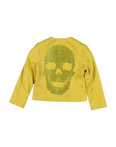 Фото 2 - Куртку желтого цвета