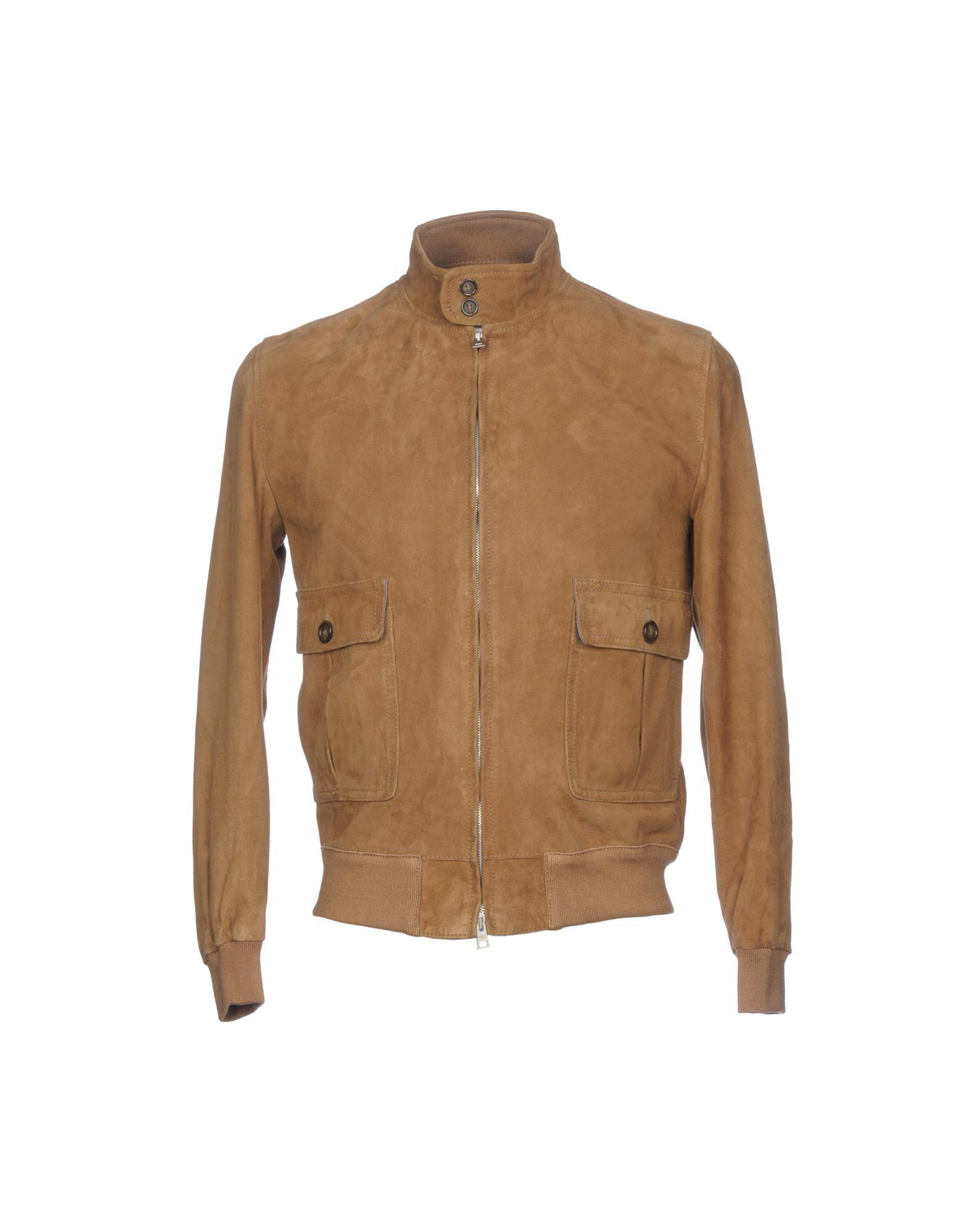 VALSTAR Leather Jacket in Camel