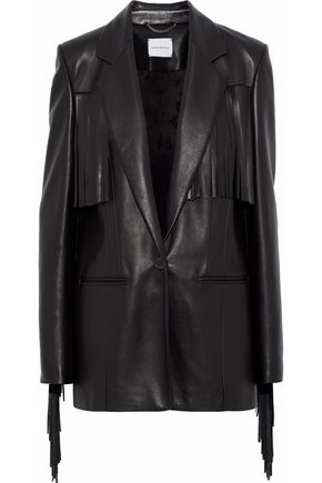 MAGDA BUTRYM El Paso fringed leather blazer