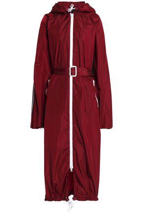 JOSEPH Hooded shell coat