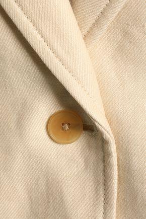 JOSEPH Linen-twill blazer