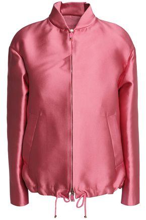 VALENTINO Satin bomber jacket