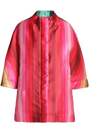 VALENTINO Striped satin jacket