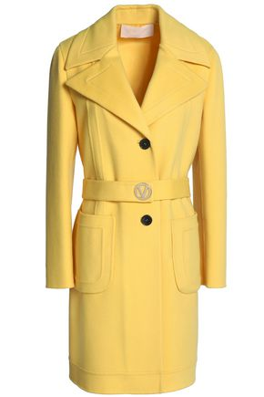 VALENTINO Wool and cashmere-blend felt coat