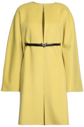VALENTINO Belted wool and cashmere-blend coat