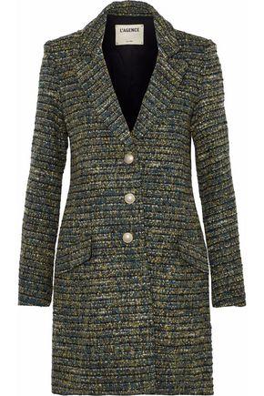 L'AGENCE Bouvier Classic tweed coat