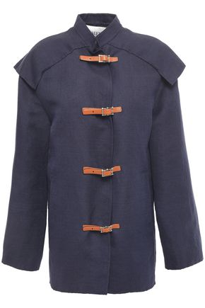 VALENTINO Linen and cotton-blend jacket
