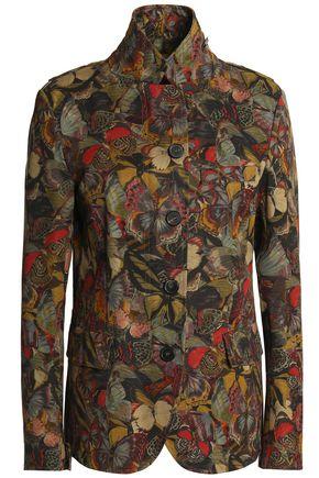 VALENTINO Printed cotton-twill jacket