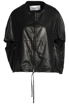 VALENTINO Leather cape