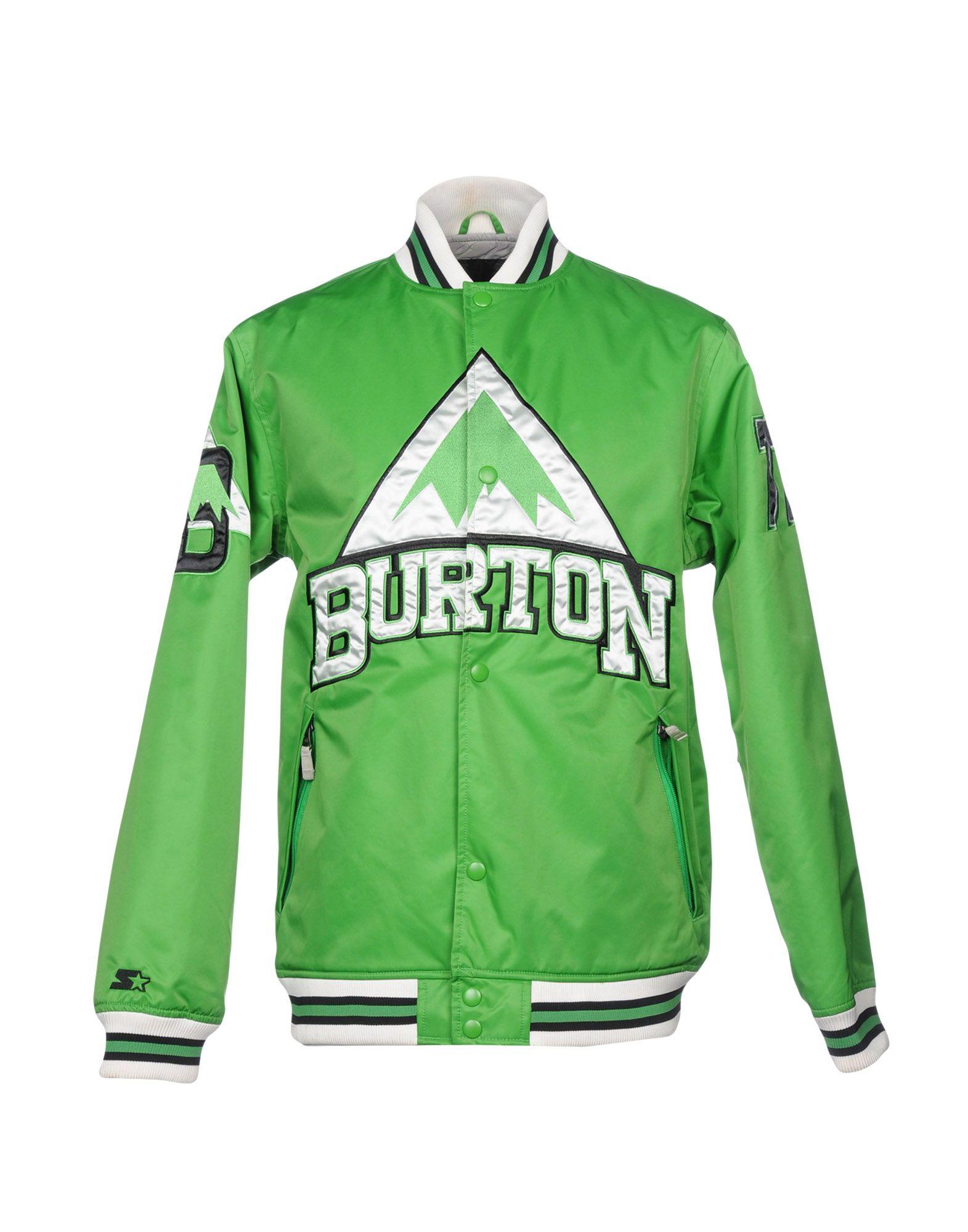 BURTON Bomber in Green
