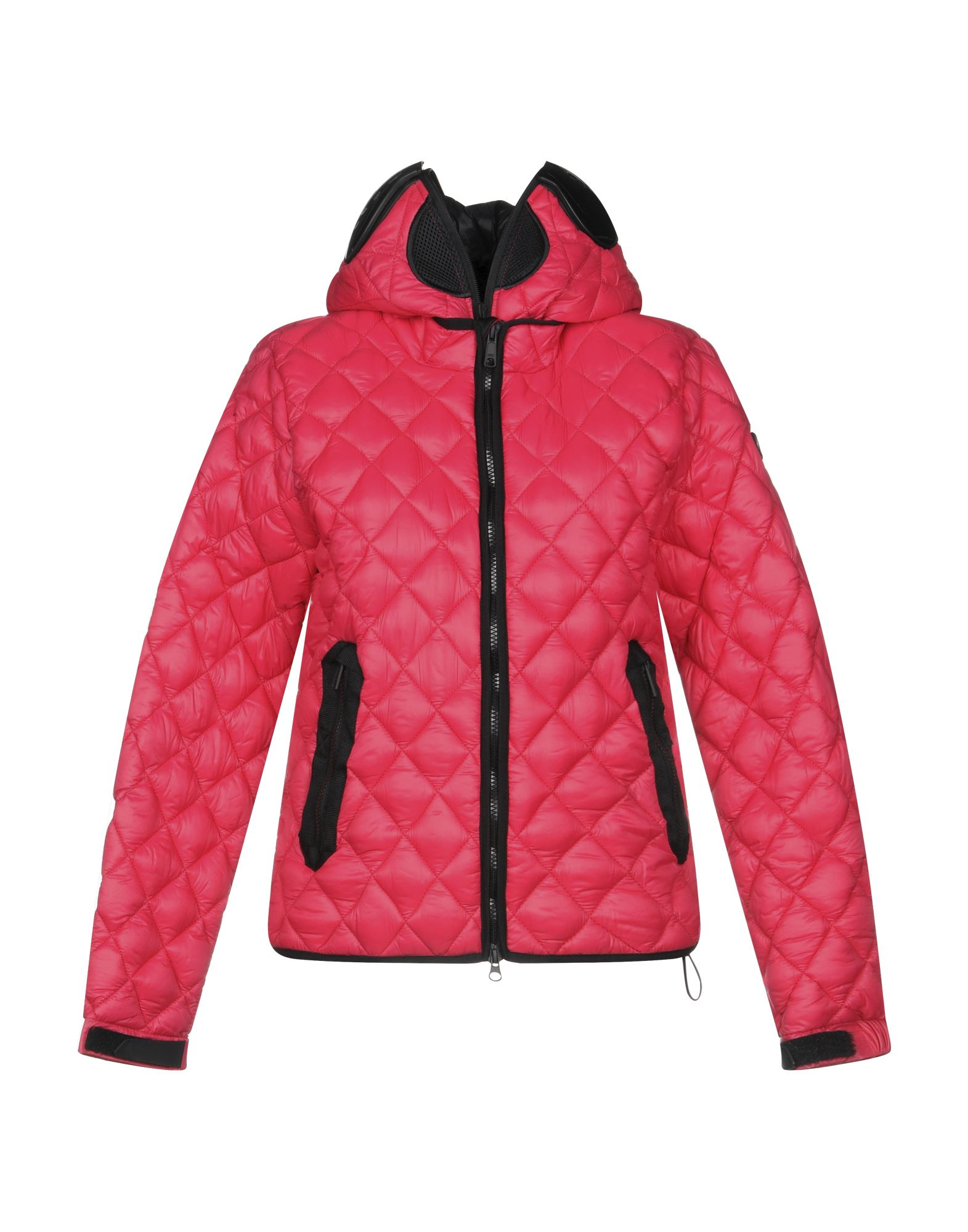 AI RIDERS ON THE STORM Synthetic Padding in Fuchsia