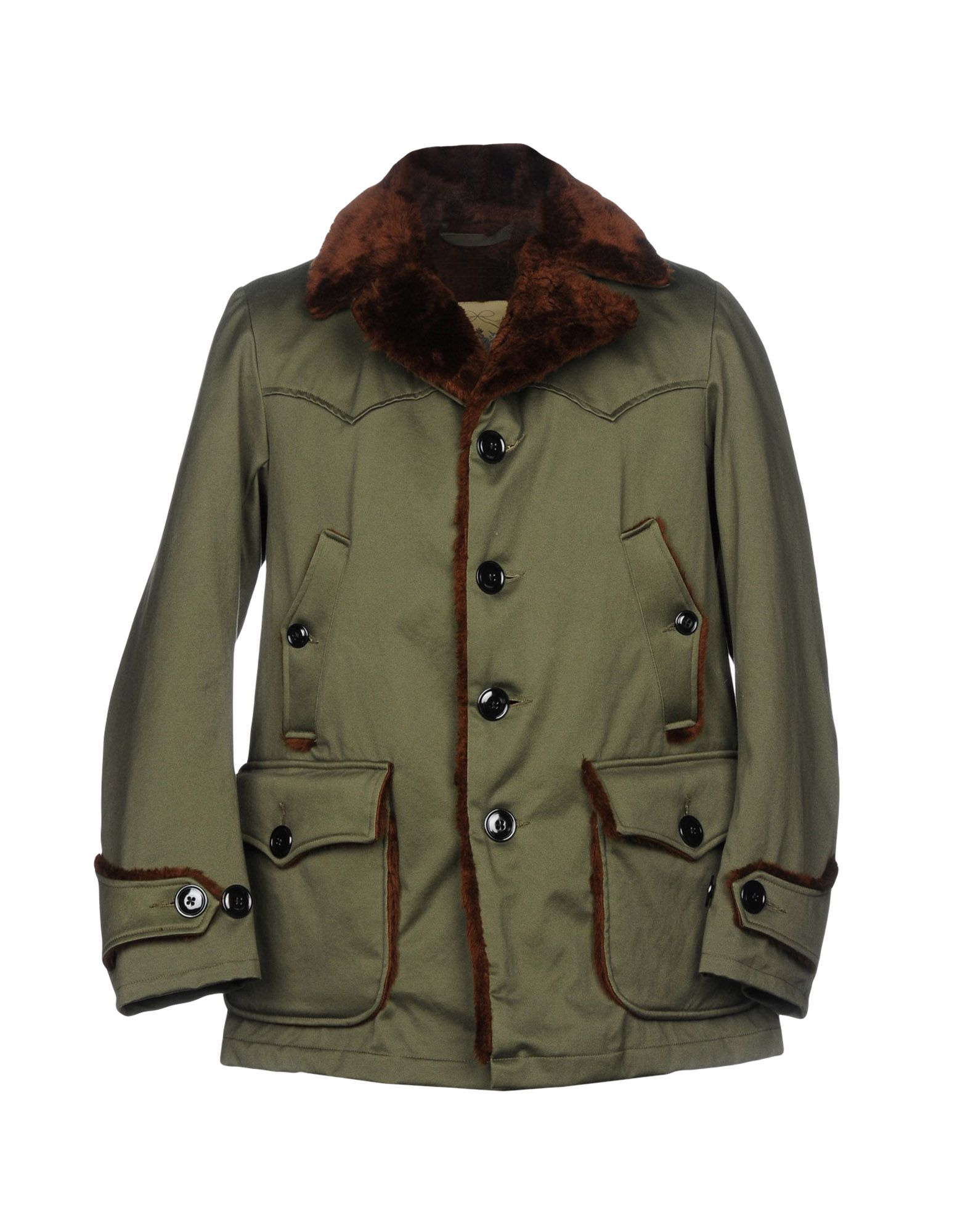 MONITALY Jacket in Military Green