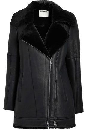 Woman Brando Shearling Jacket Black