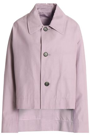 MARNI Cropped cotton-blend gabardine jacket