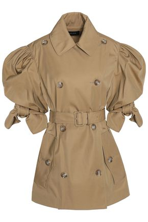 SIMONE ROCHA Gathered belted twill jacket