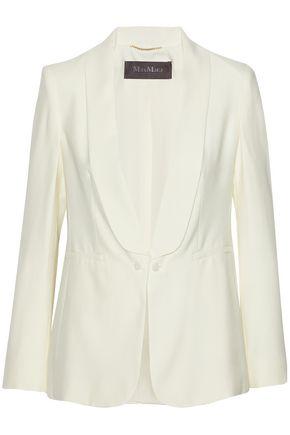 MAX MARA Aleggio silk-crepe blazer