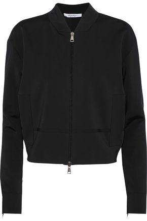 MAX MARA Satin-trimmed jersey jacket