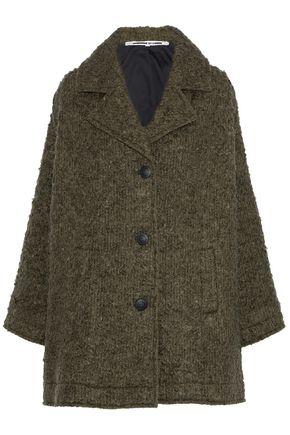 McQ Alexander McQueen Wool-blend bouclé coat