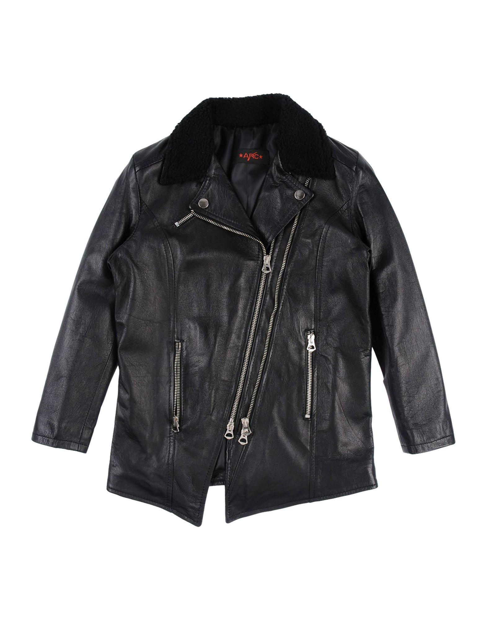 ARC Biker Jacket in Black