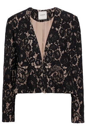 LANVIN Corded lace jacket