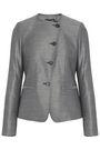 MAX MARA Erba stretch wool and silk-blend blazer
