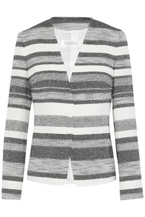 MAX MARA Tommy striped woven blazer