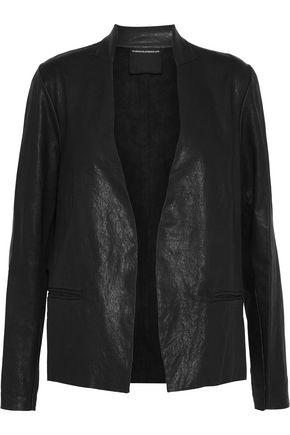 MAJESTIC FILATURES Leather jacket
