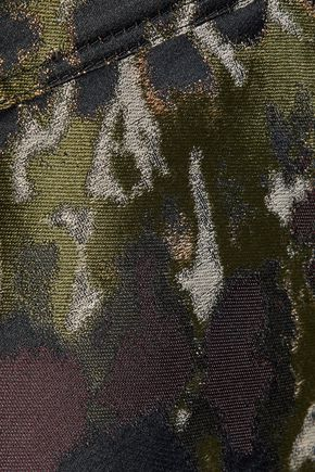 VALENTINO GARAVANI Metallic jacquard jacket