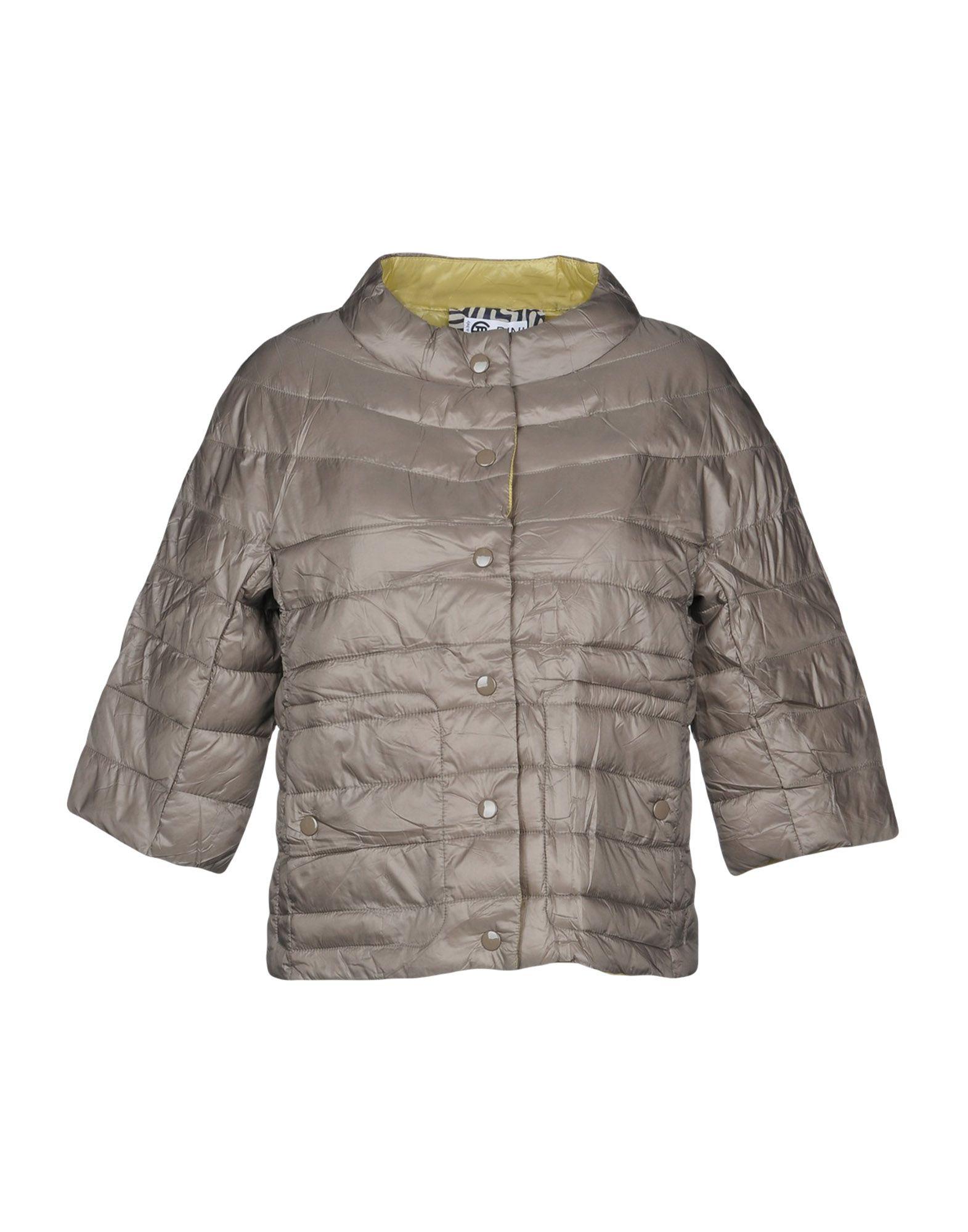 《送料無料》BINI Como レディース 合成繊維中綿アウター ドーブグレー XS ナイロン 100%