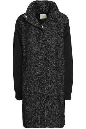 BY MALENE BIRGER Satin-paneled wool-blend coat