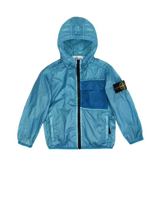 경량 재킷 41230 LAMY COVER<br>PACKABLE STONE ISLAND JUNIOR - 0