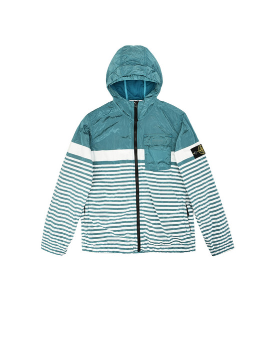 STONE ISLAND JUNIOR Mittellange Jacke 41637 NYLON METAL