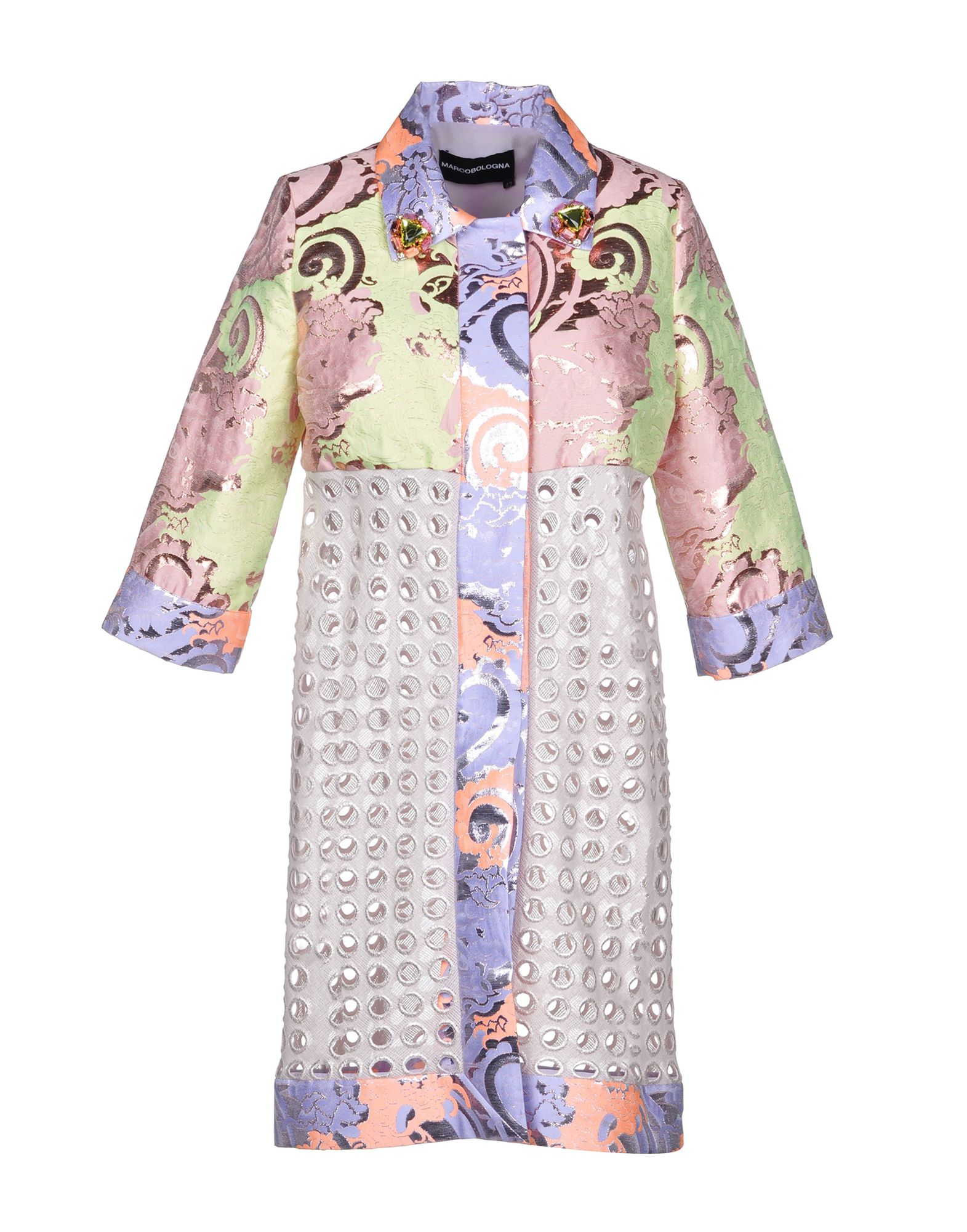 MARCO BOLOGNA Легкое пальто gian marco venturi одежда 81g01