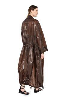 ALBERTA FERRETTI Maxi trench in nylon Long coat Woman r