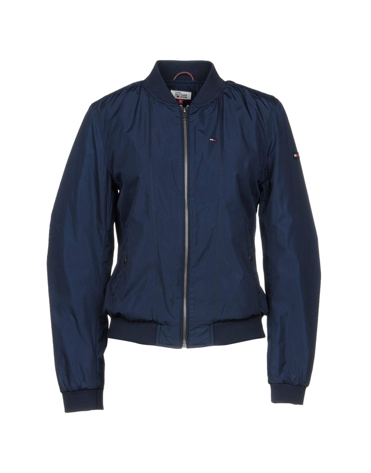 TOMMY HILFIGER DENIM Куртка куртка tommy hilfiger mw0mw02101 403 sky captain