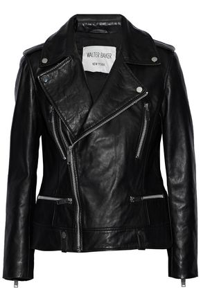 W118 by WALTER BAKER Liza leather biker jacket
