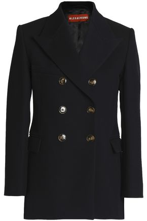 ALEXA CHUNG Double-breasted twill blazer