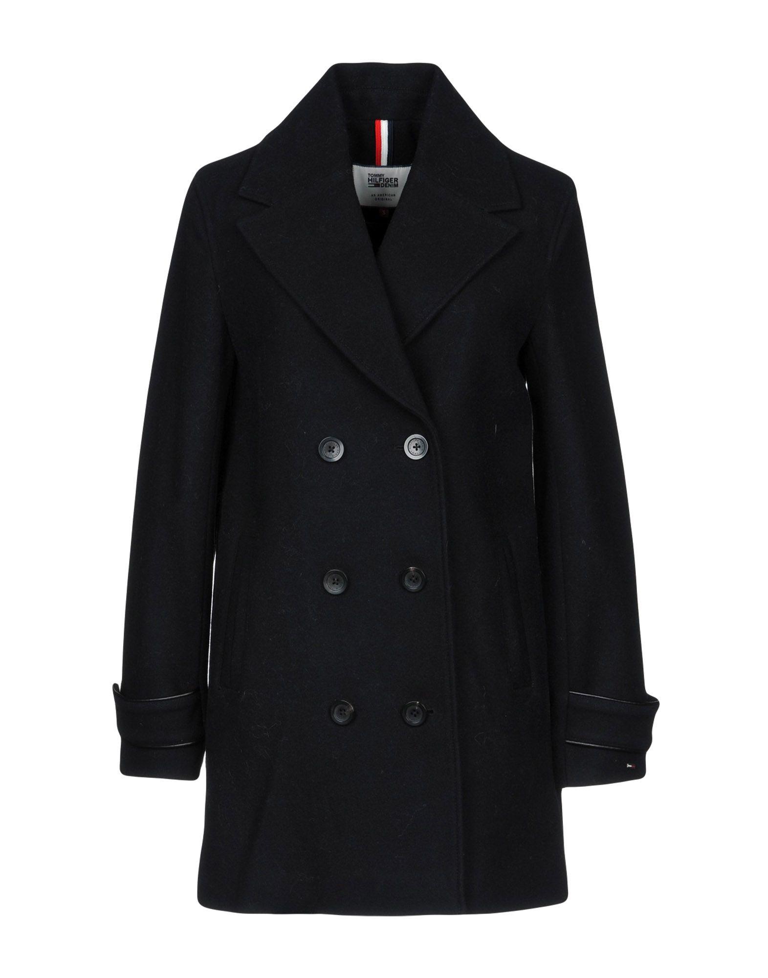 TOMMY HILFIGER DENIM Пальто пальто tommy hilfiger denim tommy hilfiger denim to013ewufl35
