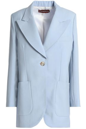 ALEXA CHUNG Wool-twill blazer