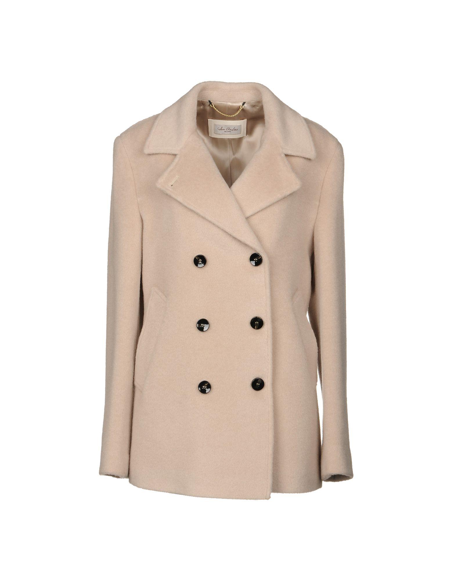 SAN ANDRÉS Пальто пальто